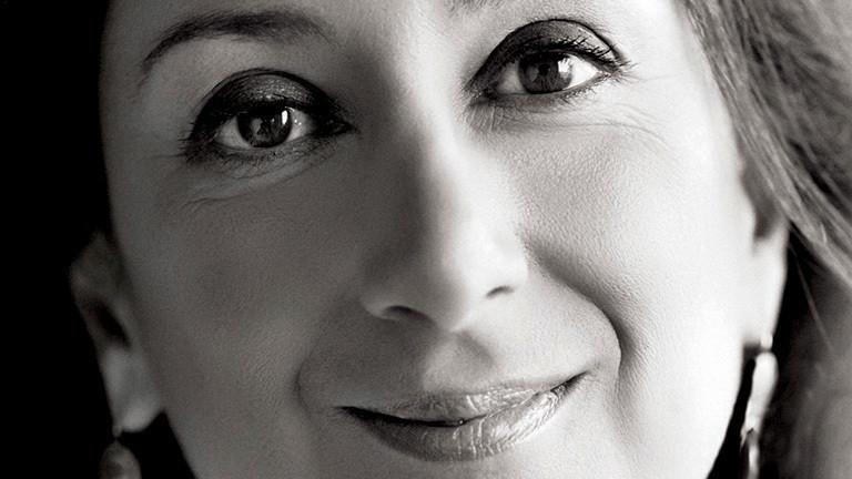 Porträt von Daphne Caruana Galizia