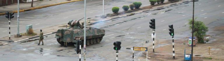 Militär in Simbabwes Hauptstadt Harare