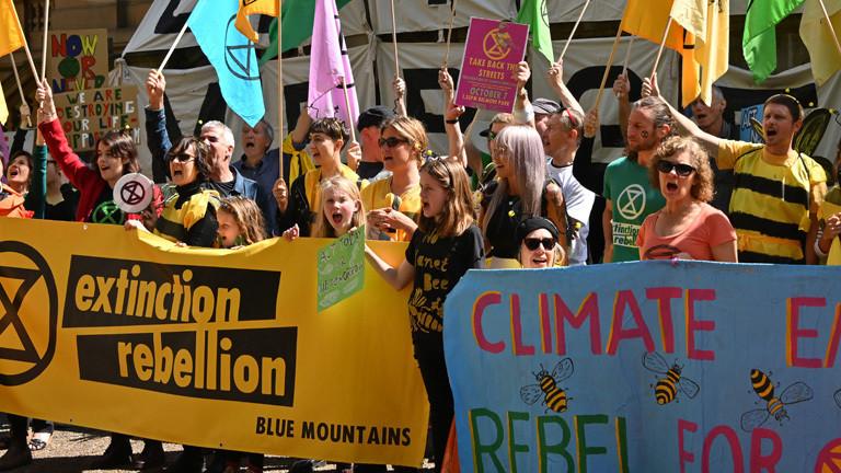 Klimaprotest in Australien