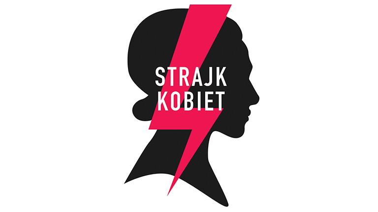 Logo des Frauenstreiks gegen das Abtreibungsverbot in Polen