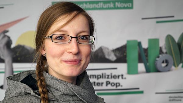 """Juliane Schumacher, Autorin des Buches """"How to survive als Radfahrer"""""""