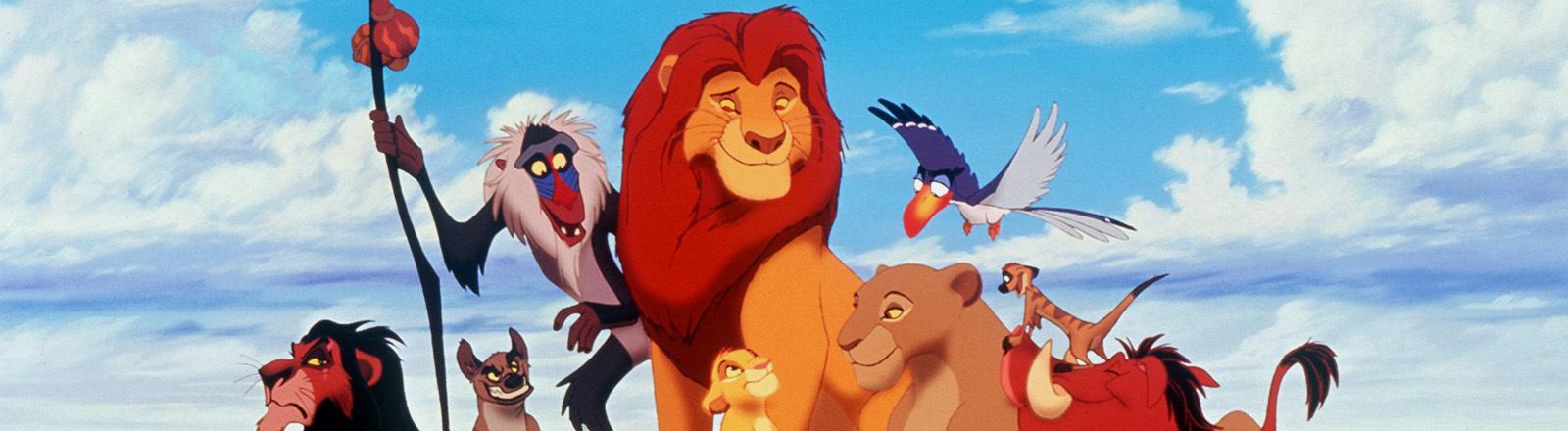 Szene aus dem Disney-Film König der Löwen