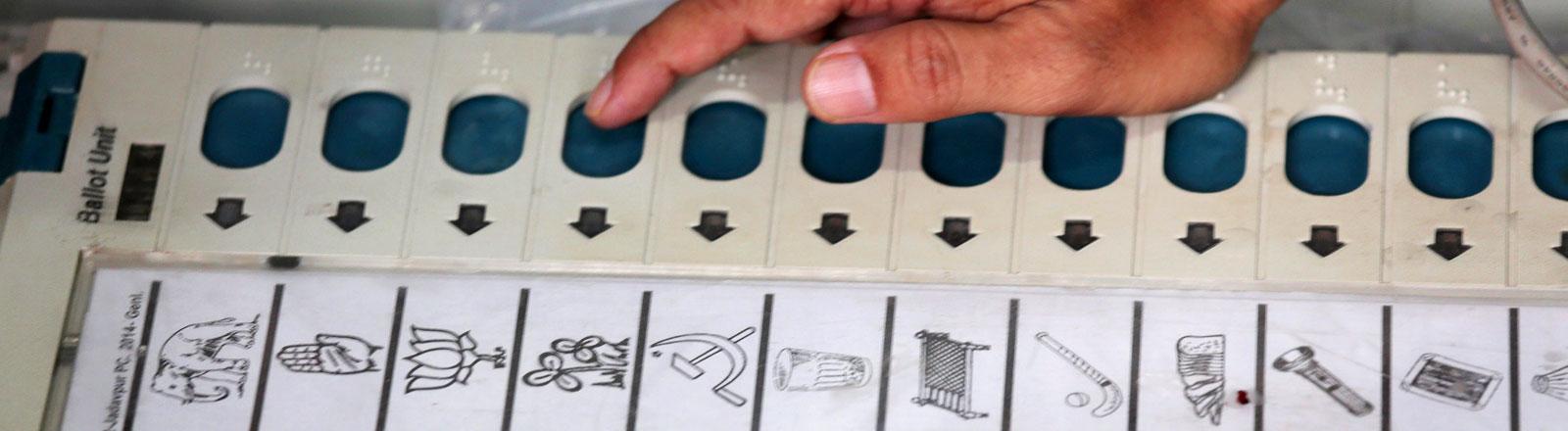 Wahl in Indien