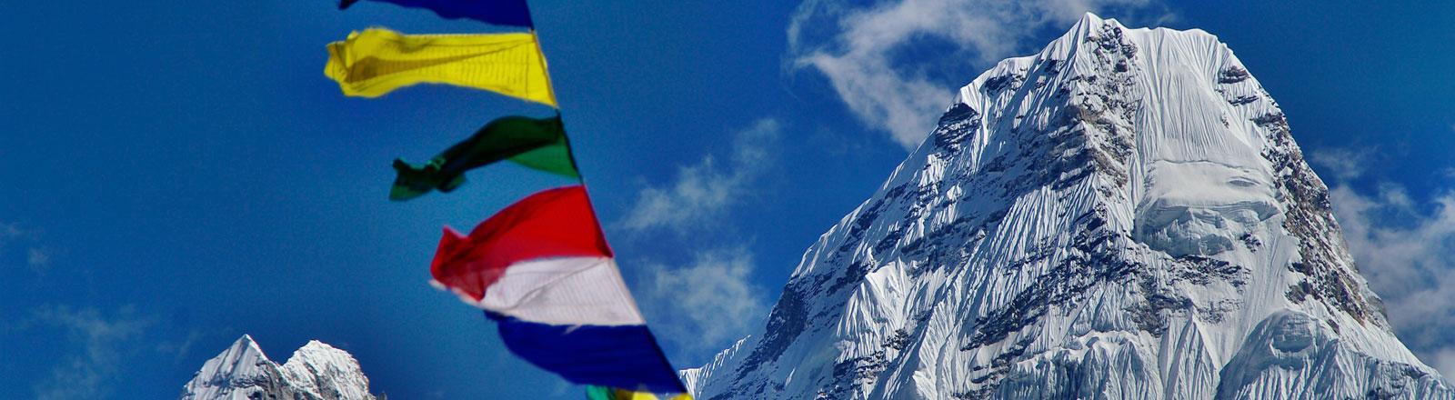 Die Suche nach innerer Stille hat Teresa Heidegger nach Nepal geführt.