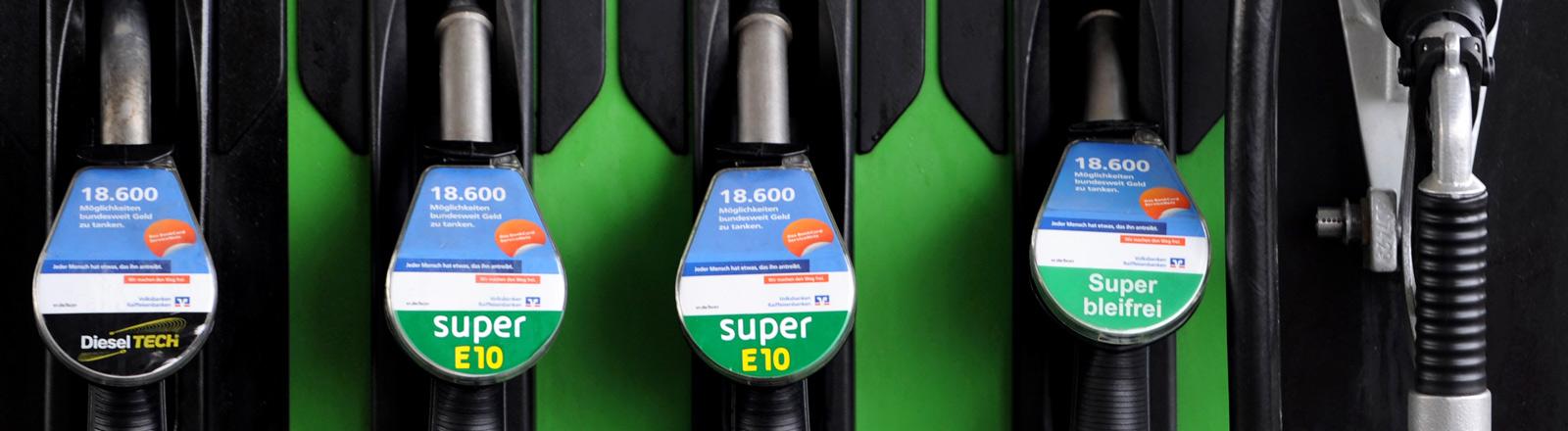 Zapfsäule mit Bio-Diesel