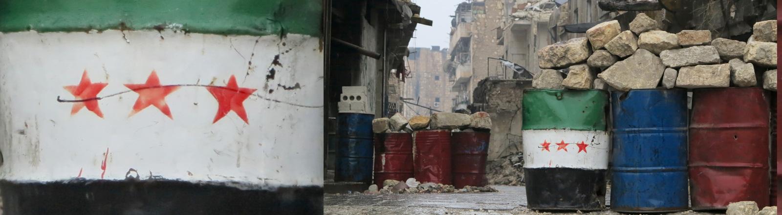 Dieser Stadtteil in Ost-Aleppo ist am 13.12.2016 von den Regierungstruppen eingenommen worden.