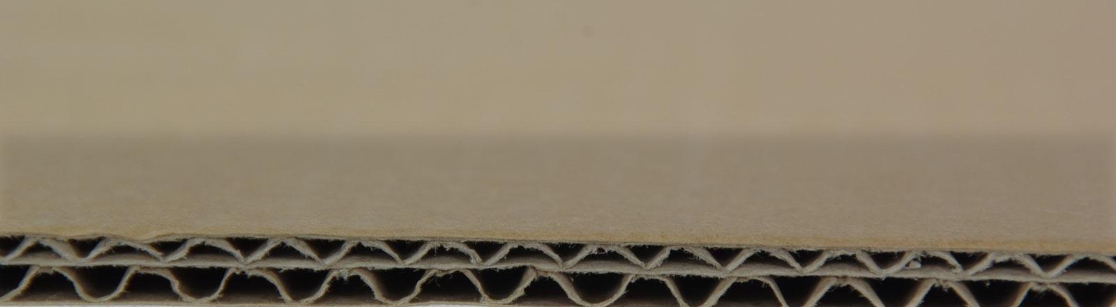 Ein Stück Pappe