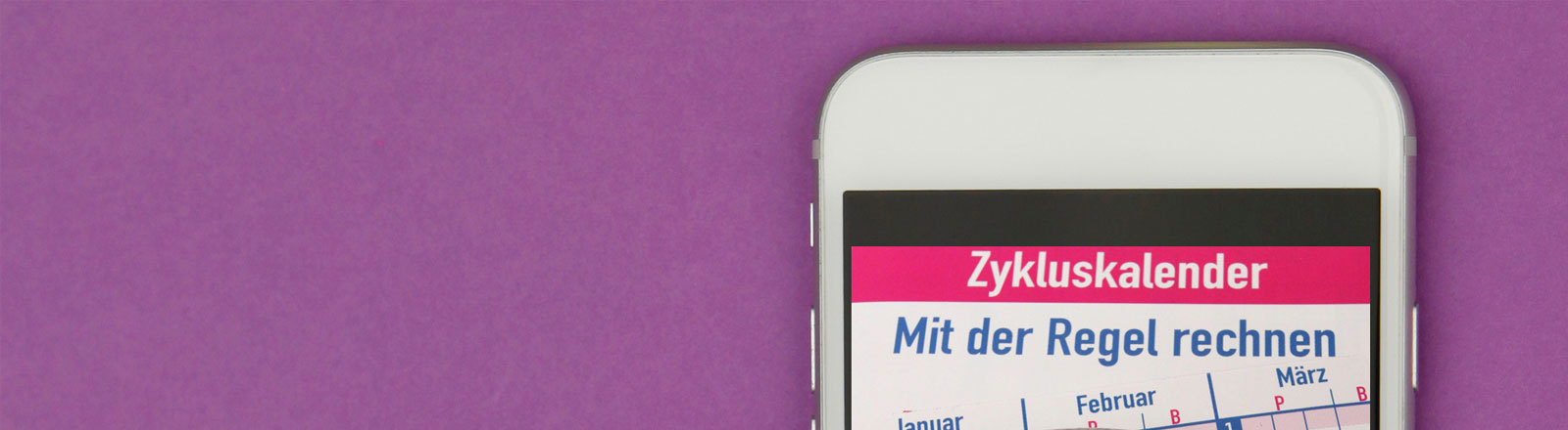 Zykluskalender Smartphone