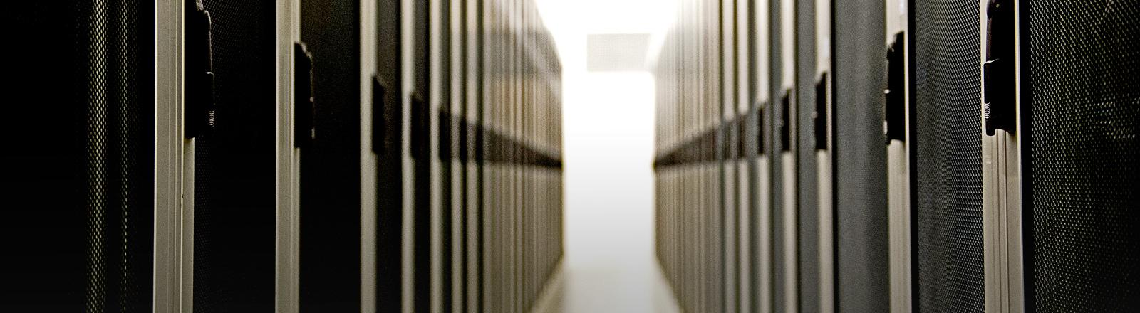 Ein Serverraum.