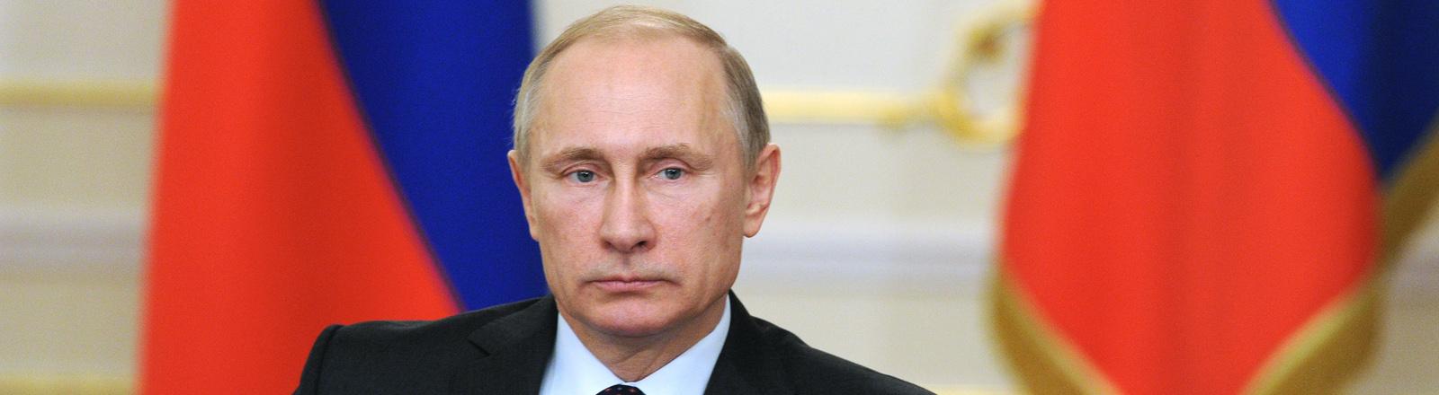 Portrait von Wladimir Putin