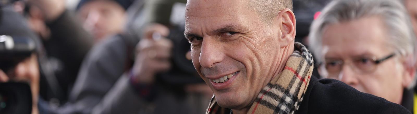 Portrait von Yanis Varoufakis