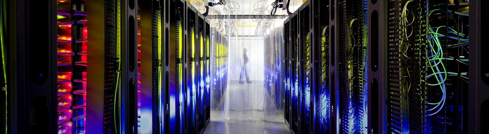 Serverraum von Google