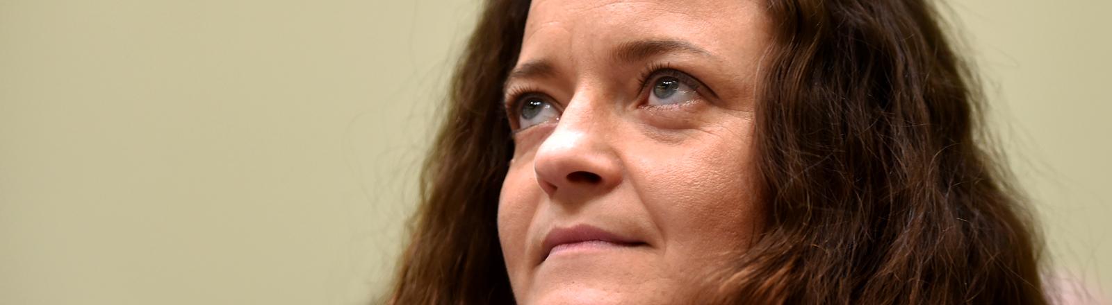 Porträtbild Beate Zschäpe, Hauptangeklagte im NSU-Prozess.