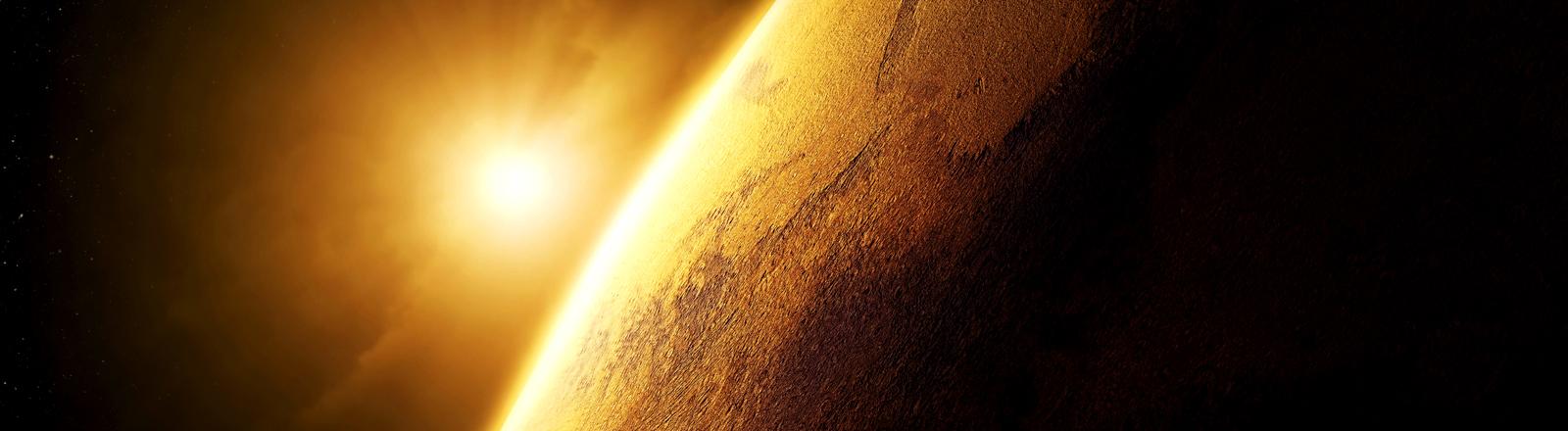 Illustration Mars-Planet