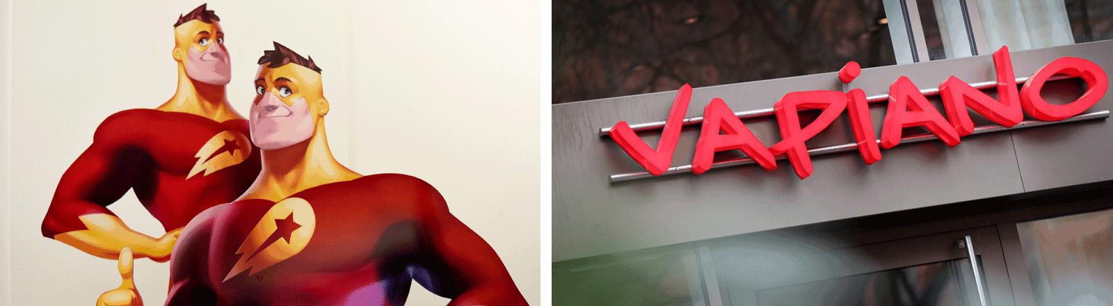 Vapiano und Delivery Hero