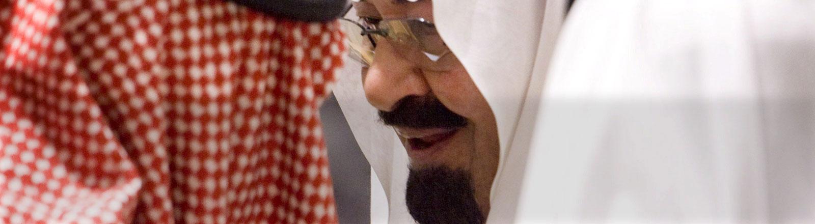 König Abdullah von Saudi-Arabien.