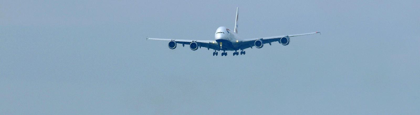 Flugzeug der Airline British Airways