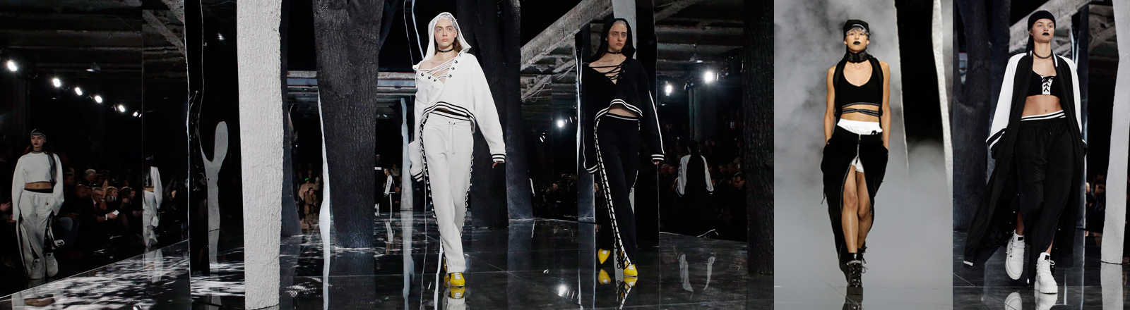 Rihannas Modekollektion auf der Fashion Week in New York