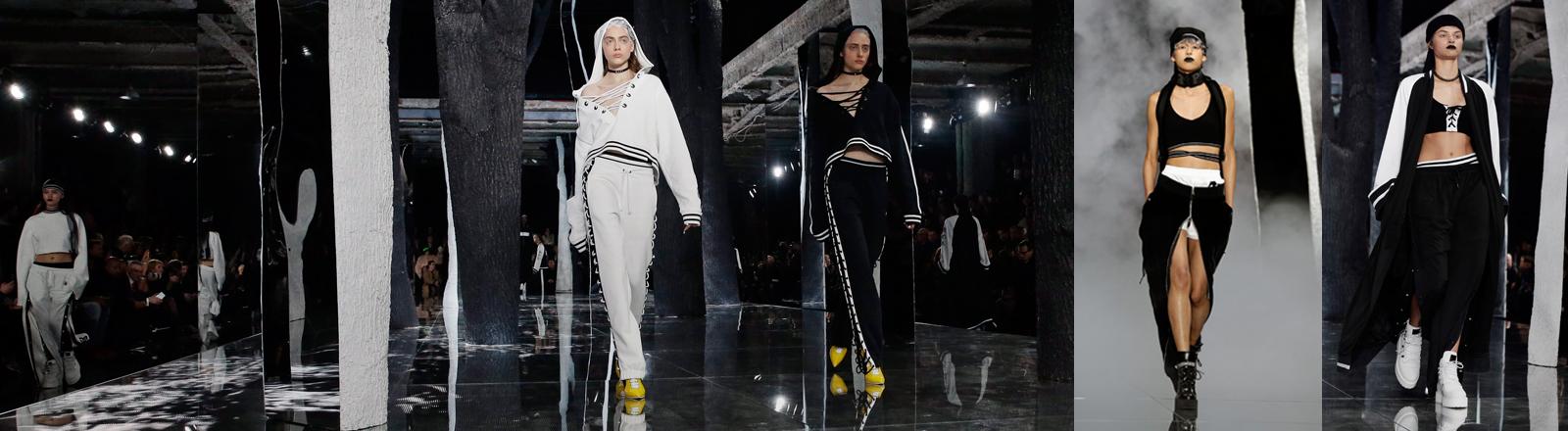 Rihannas Modekollektion auf der Fashion Week in New York