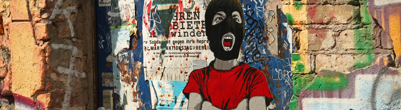 """Eine Street-Art-Arbeit von dem Künstler """"Alias"""""""
