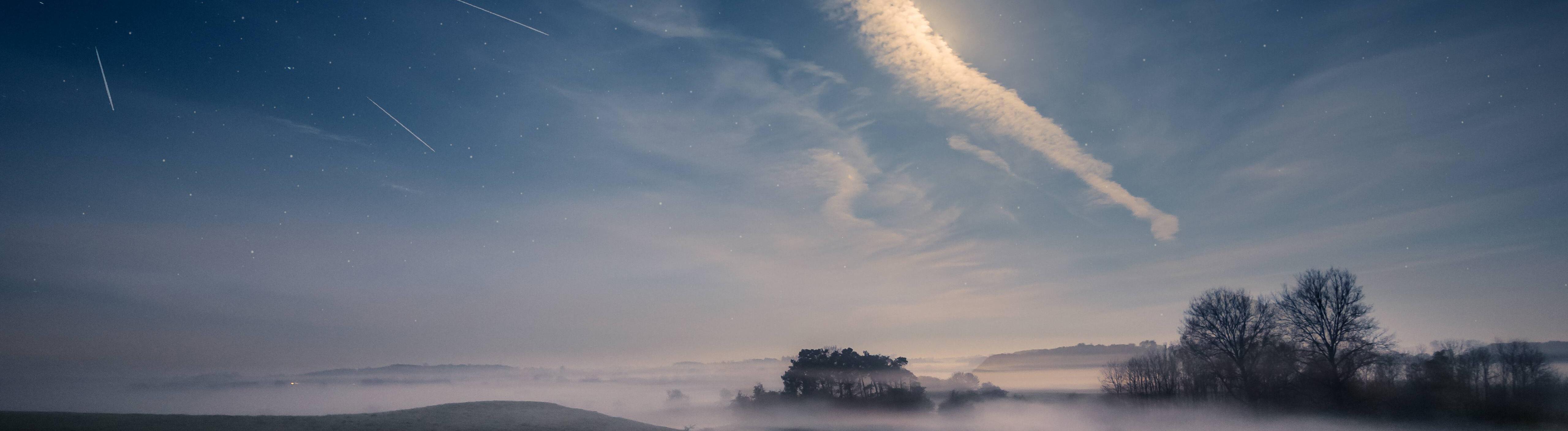 Vergleichbar mit dem Himmelsphänomen in Süddeutschland: Meteorschauer über Dänemark im September 2017