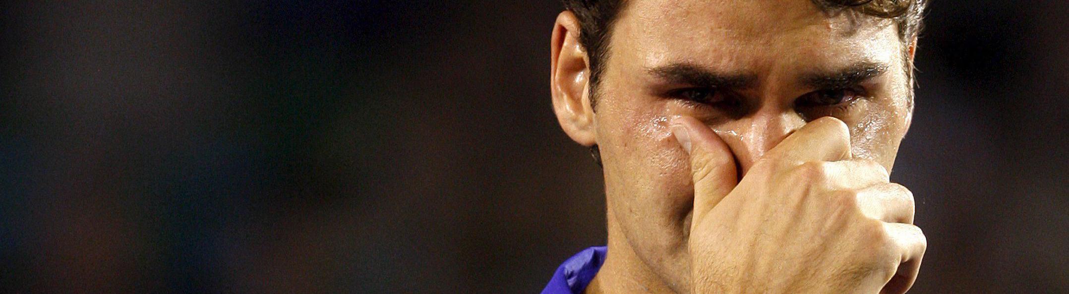 Männer Weinen Heimlich