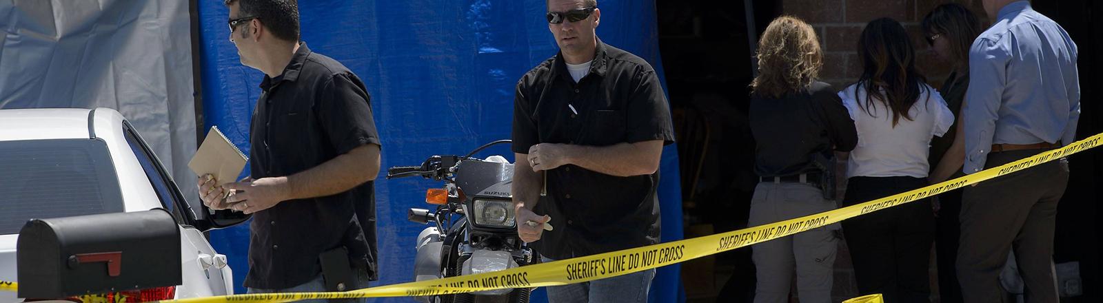 Festnahme des mutmaßlichen Golden State Killers