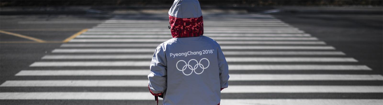 Hier gelten andere Sitten: ein Olympia-Freiwilliger in Pyeongchang