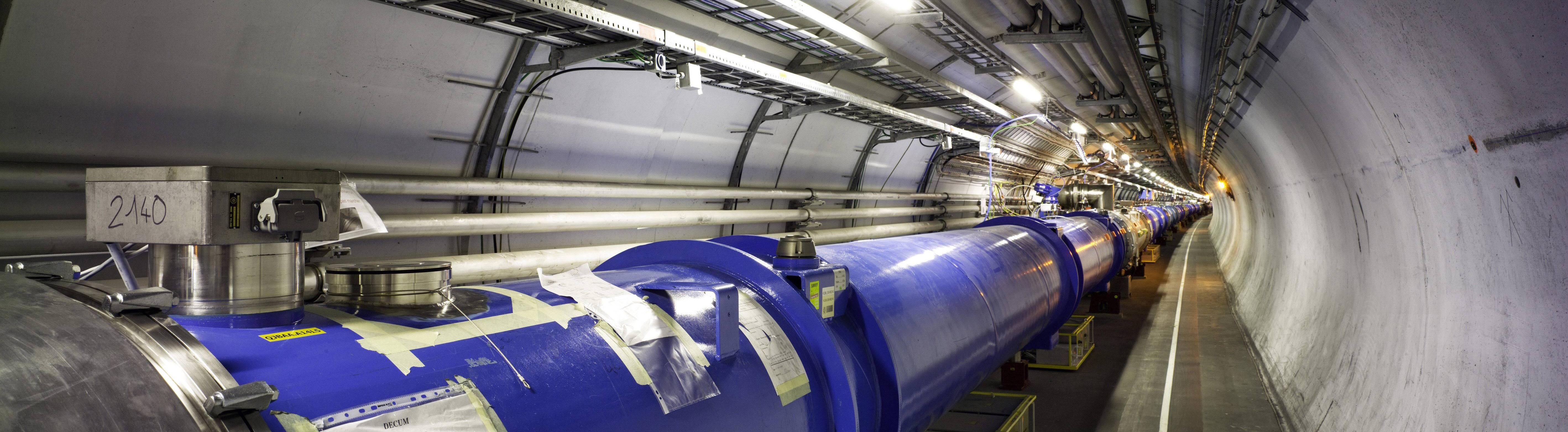 Auf der Suche nach physikalischen Antworten: der Teilchenbeschleuniger am Cern