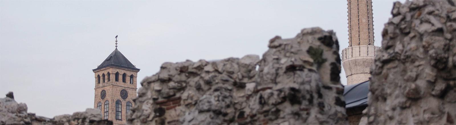 Auf dem Weg in die EU? Die bosnische Hauptstadt Sarajevo