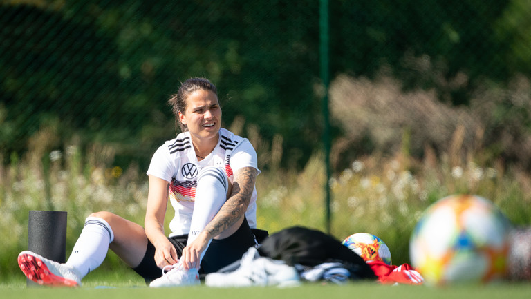 Dzsenifer Marozsan - eine der Favoritinnen bei der Fußball-WM 2019.