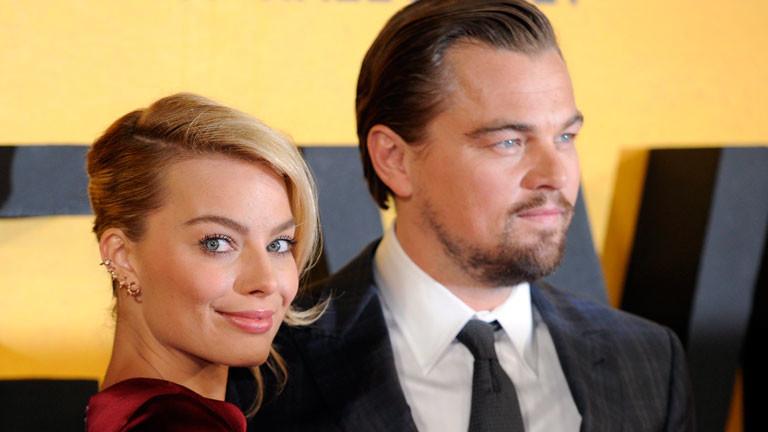 """Leonardo DiCaprio stellt seinen neuen Film """"The Wolf of Wall Street"""" vor."""