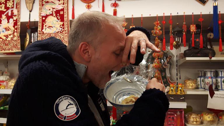 Stephan isst Durian