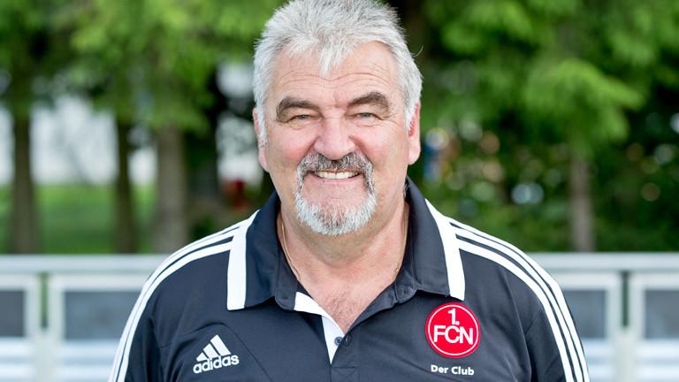 Zeugwart des FC Nürnberg, Günter Vogt