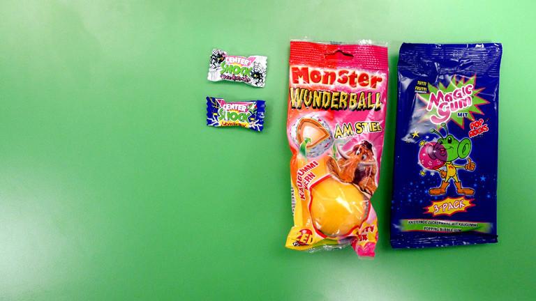 Typisch 90er jahre süßigkeiten