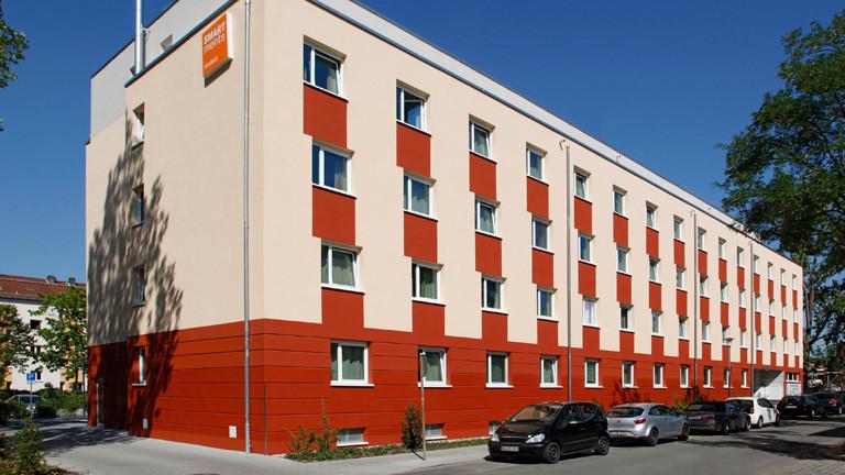 Smartmens Apartment von außen