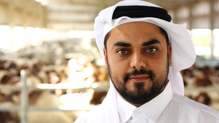 Ramis Al Chajat, Vize-Präsident der katarischen Firma Baladna