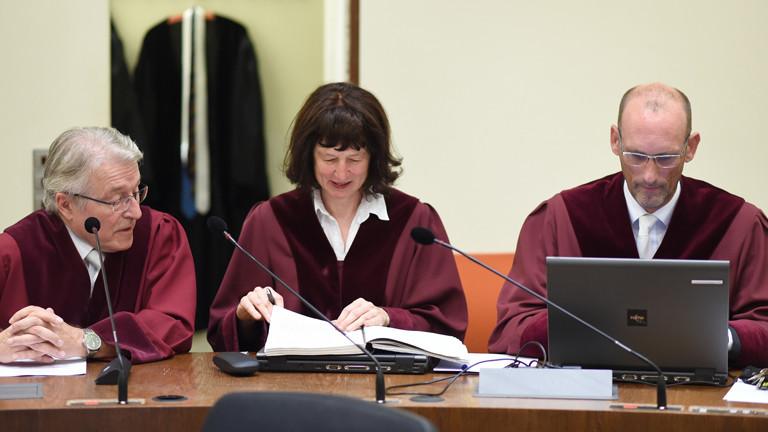 Bundesanwalt Herbert Diemer, Oberstaatsanwältin Anette Greger und Bundesanwalt Jochen Weingarten