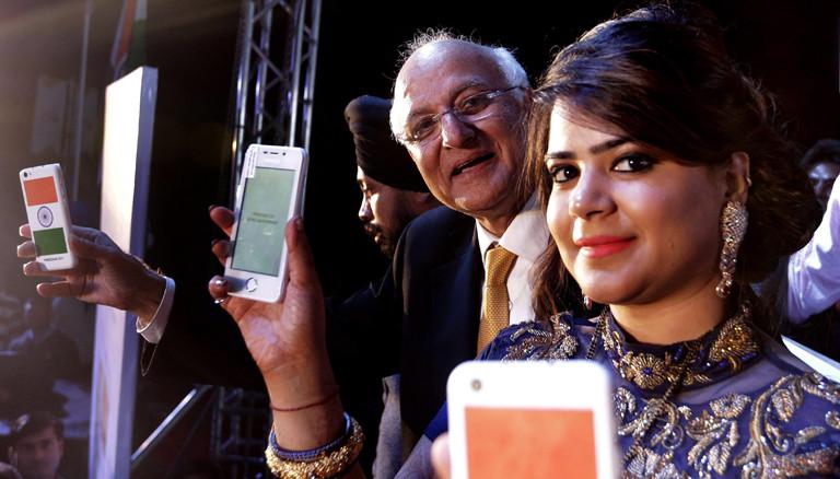 Die indische Firma Ringing Bell hat heute ein Smartphone für umgerechnet drei Euro vorgestellt - das Freedom 251.