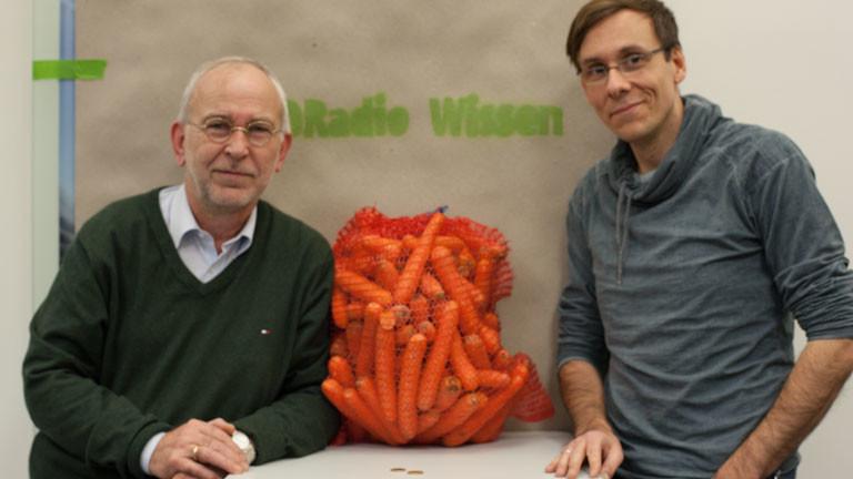 Bauer Willi und Moderator Sven Preger