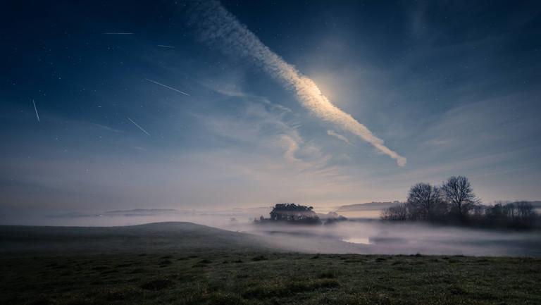 Meteor Süddeutschland