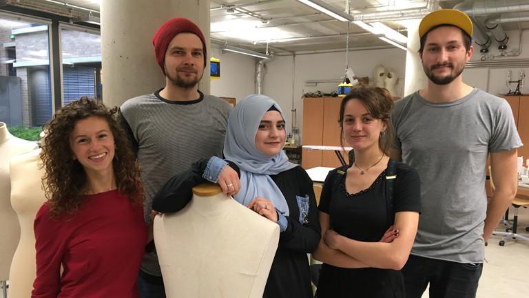 Studierende der Textilwissenschaften, TU Berlin
