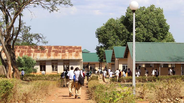 Eine Schule in Uganda.