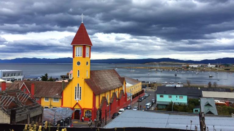 Kirche in Ushuaia