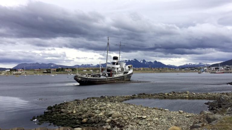 Hafen in Ushuaia