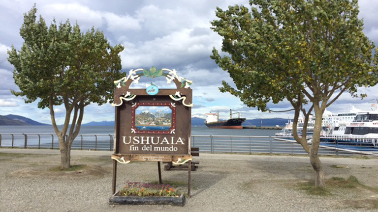 Willlkommen in Ushuaia