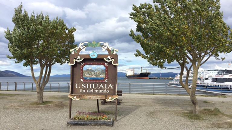 Willlkommen in Ushuaia