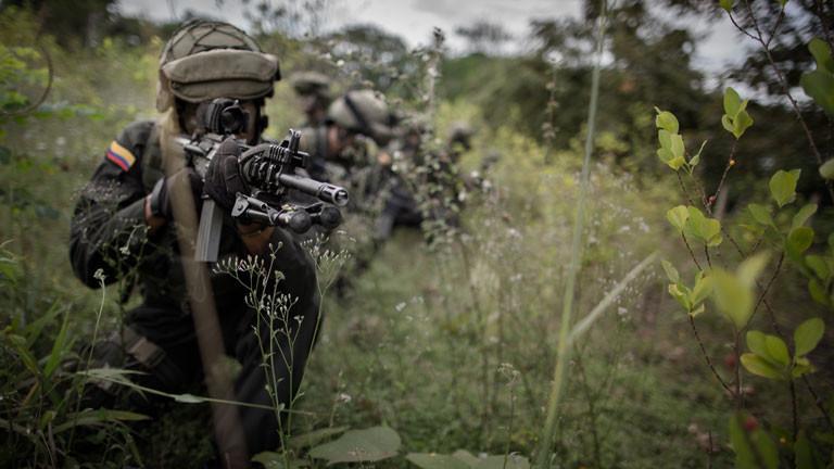 Seit 1964 führen die Farc-Rebellen Krieg gegen den kolumbianischen Staat.