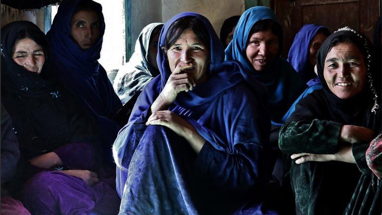 Frauen in Kabul