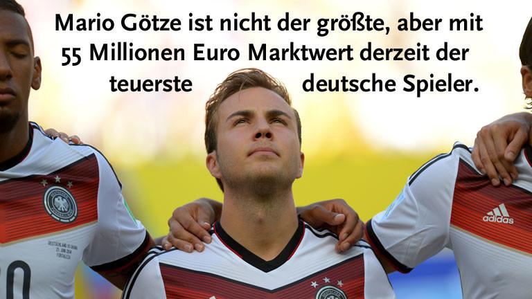 Nationalfußballer Mario Götze